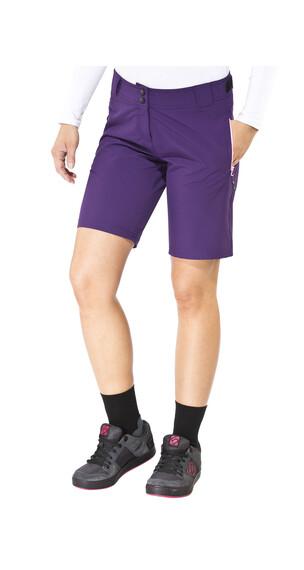 Ziener Cinda Shorts Women X-Function violet grape/candy
